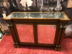 Russian Console Table Sleek And Sophisticated This Elegant Russian Sideboard Consists Of A Glass
