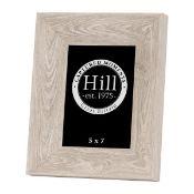 2 x Grey Washed Wood Photo Frame 19306 (10.5x8.5cm)