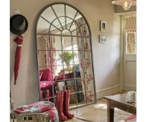 Laura Ashley Malory Arch Mirror A stunning piece that will provide the focal point in any room,