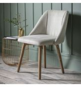 Elliot Dining Chair Perfect for dining in style the Elliot Dining Chair in a contemporary upholstery