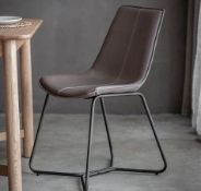 Hawking Chair -Pack Of 2 X The Hawking Chair In Ember Is The Ultimate Mi X Of Timeless And