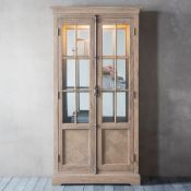 Mustique Display Cabinet With A Touch Of Inspiration From The French Colonial Style, This Gorgeous 2