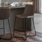 Hawking Bar Stool Grey The Hawking Chair In Ember Is The Ultimate Mi X Of Timeless And