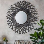 Zepher Mirror Bronze Reinventing The Traditional Circular Mirror With The Modern Influences Of