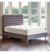 """Simply Sleep No Drawer Divan King 150cm Plat Top 13"""" upholstered Langford Sahara Divan Base using"""