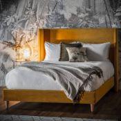 Gallery Doddington Bedstead 135cm Placido Saffron Traditional yet modern in style the Doddington
