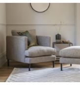 Gallery Dulwich Armchair Standard Leg Castello Mushroom C5 Complete the apartment living look with