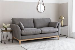 Norwood Sofa Bed 140cm Pocket Matt Placido Wedgewood Clean Nordic styling perfectly combined with