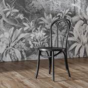 Foy Chair Black 2pk This Foy Black Dining Chair Offers A Classic Addition To Your Dining Area This