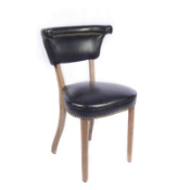 Mimi Dining Chair (Antique Black) A beloved Timothy Oulton bestseller, the Mimi Dining Chair is as
