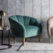 Tulip Chair Mint Velvet The tulip chair is a very stylish, statement piece that still manages to