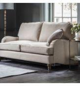 Howard Sofa Bed 140cm Open Coil Matt Standard leg Ferroli Carolina Traditional style with sleek