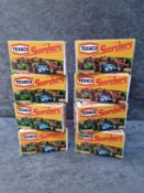 Zee Toys 6 x Boxed Diecast Texaco Scorchers Made In Hong Kong Comprising Of #D1 B.R.M F1 Scale: 1/66