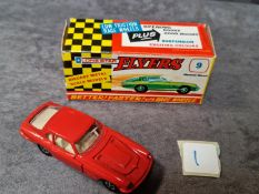 Lonestar Flyers #9 Maserati Mistral Red With Beige Interior