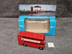 Lonestar #1259 Routemaster Bus In Box See London By Bus #29 Victoria