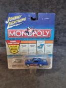 Johnny Lightning Monopoly Diecast Collectible Car #155-20 By Playing Mantis In Original Bubble