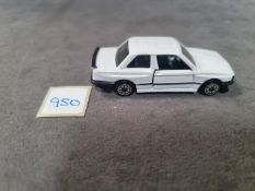 Corgi BMW 325i Diecast Model White Mint Model Without Box 1984