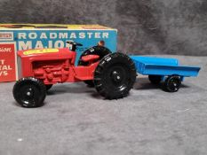 Lonestar Farm King Tractor And Trailer Major Series #.1258 With Inner Packaging In Box