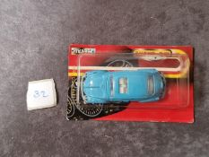 Majorette #203 Coccinelle VW Beetle Light Blue Sealed Plastic Card