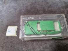 Majorette #250 Citron Maserati SM Green Hard Plastic Case