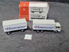 Wiking #44 Hanomag Henshel Zeitfracht Truck Lorry 1/87 Scale HO Gauge