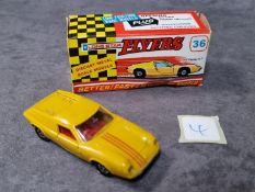 Lonestar Flyers #36 Lotus Europa GT Yellow Red Interior