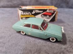 Tekno Diecast #826 Taurus 17M In Blue With A Red Interior Excellent Model With Firm Box Made In