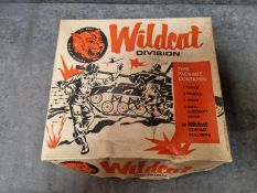 Paxton Products Inc #2000 US Army Wildcat Division Rare Vintage 1960s Playset In Original Box Set