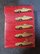 Shop Stock 5x Boxed Tekno Holland Diecast #927 Jaguar 'E' In Cellophane