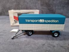 Tekno Diecast #452 Transport Spedition Trailer Mint Model With Firm Box Made In Denmark