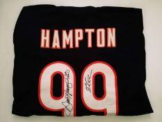 Dan Hampton Signed Chicago Bears NFL Jersey