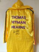 Thomas Hitman Hearns Signed Robe