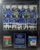Framed Chelsea 1970 FA Cup Winners Display By 8 Supplied with Certificate Of Authenticity