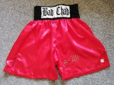 Chad Dawson Signed Boxing Shorts Asi
