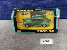 Spot-On #289 Morris Minor 1000 In Green In Excellent Box Damage To Cellophane