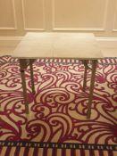 7 x Burgess Folding Flock Padded Square Banquet Table 76x 76x 72cm