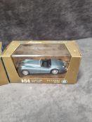 3x Brumm Revival diecast vehicles 2x #r101 Jaguar 3.5 Litri HP 160 1948 & 1x #r105 Jaguar 3.5