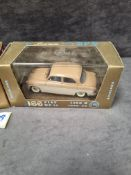 2x Brumm Revival diecast vehicles in display boxes and outer box. Comprising of; #r166 Fiat 1400 B