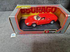 Bburago #0506 Ferrari 250 Le Mans 1965 Diecast 1/24 Scale Model In Excellent Original Box Bburago Is