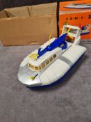 Marx battery operated S.R.N. 5 hovercraft in box
