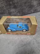 3x Brumm Revival diecast vehicles in display boxes and outer box. Comprising of; #r42 Bugatti tipo