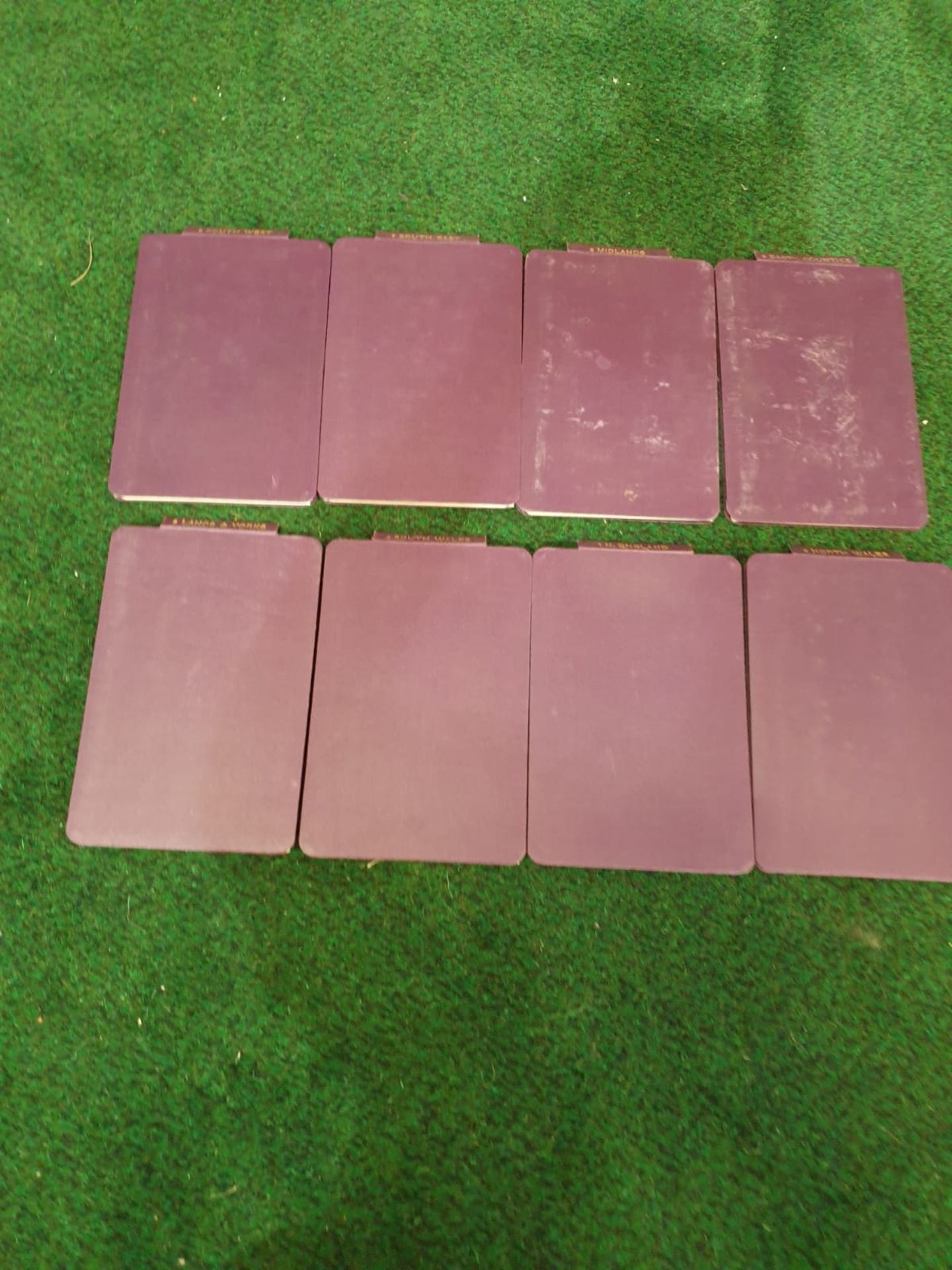 A set of 8 G.W. Bacon & Co VintageLarge Print Road maps in leather slipcase Circa. 1910 - Image 10 of 12