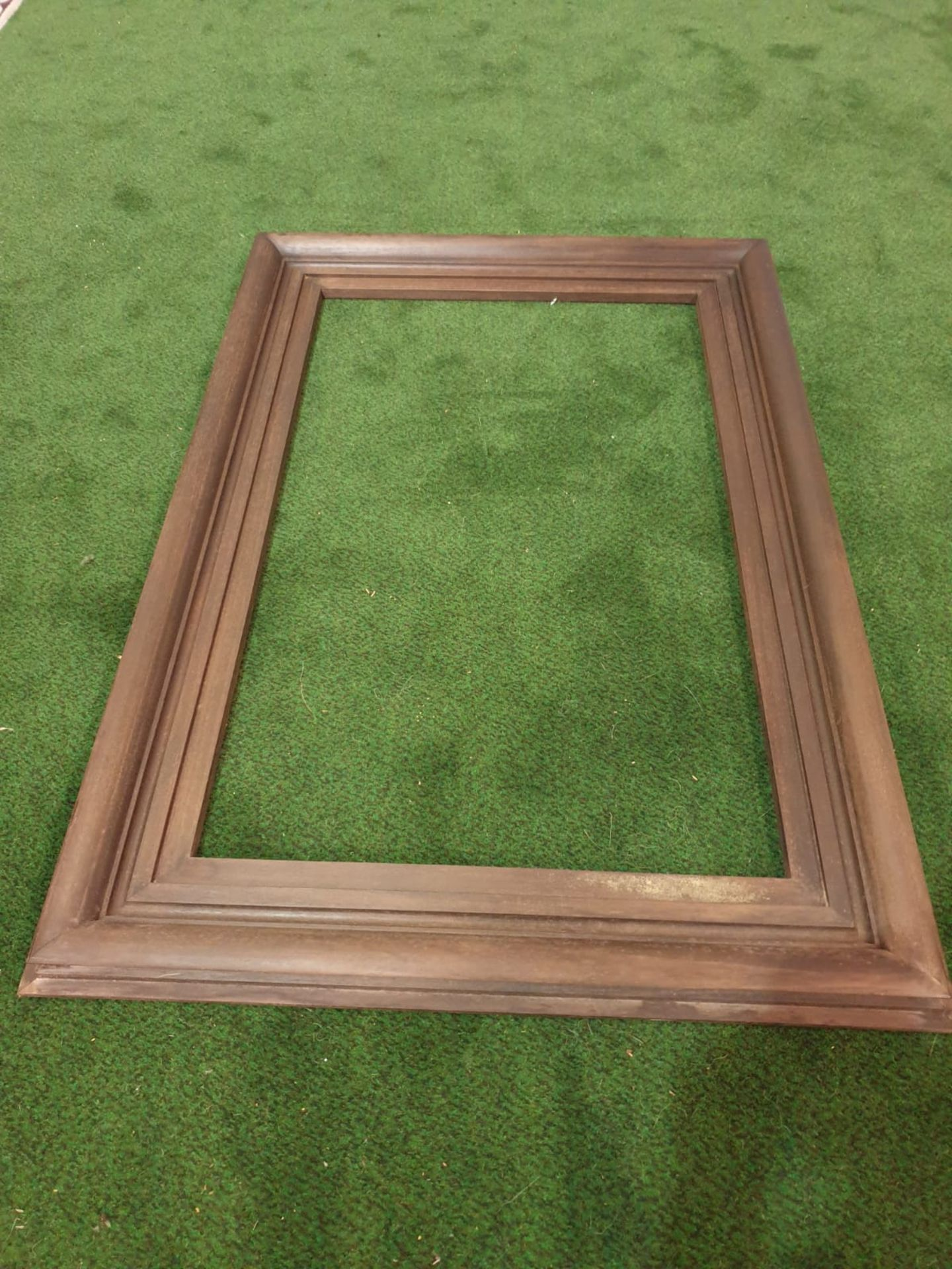 Brown picture frame 80 x 116 cm