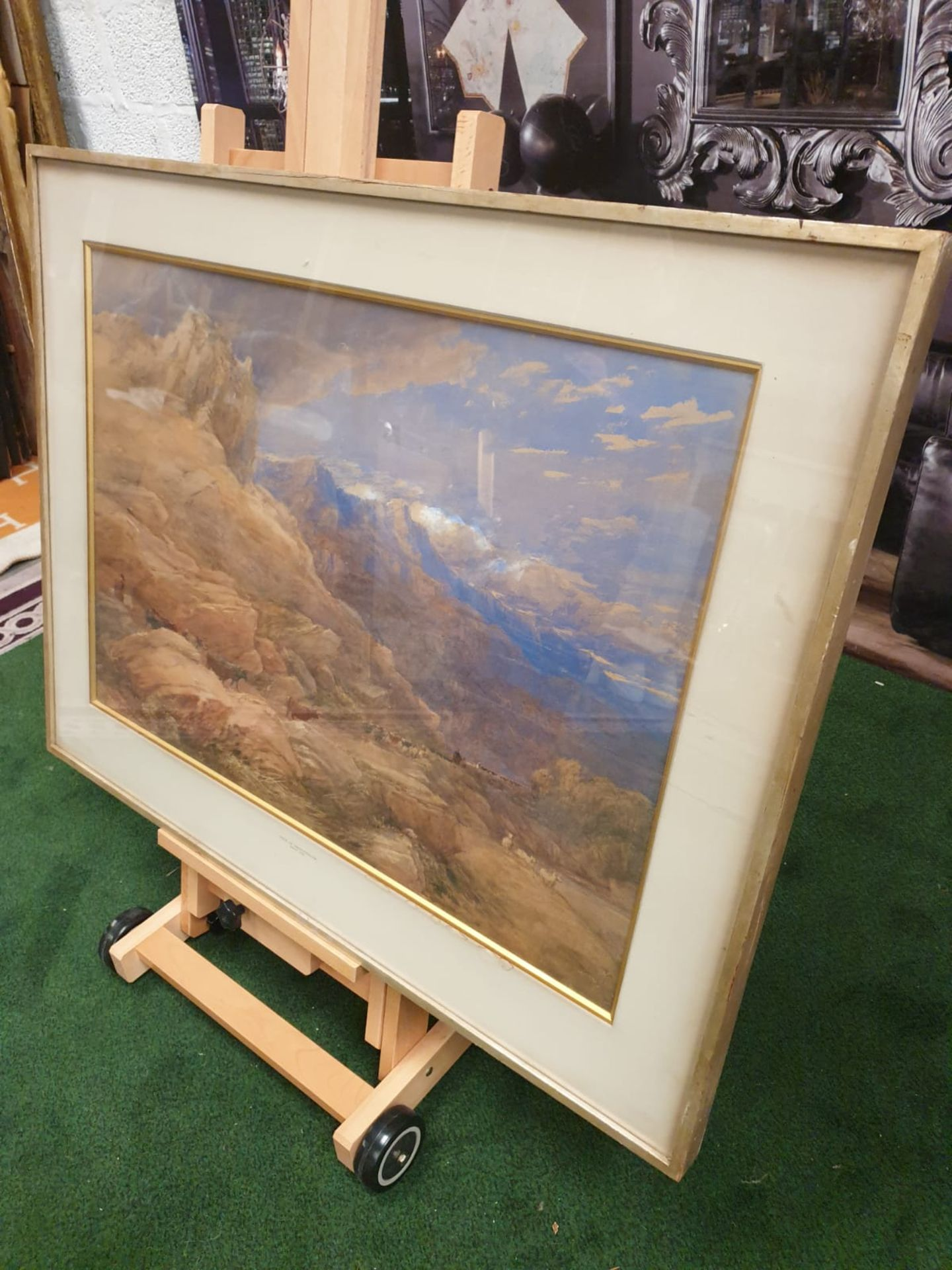 Framed print The Vale of Dolwyddelan David Cox Date: 1846 David Cox (29 April 1783 – 7 June - Image 2 of 5