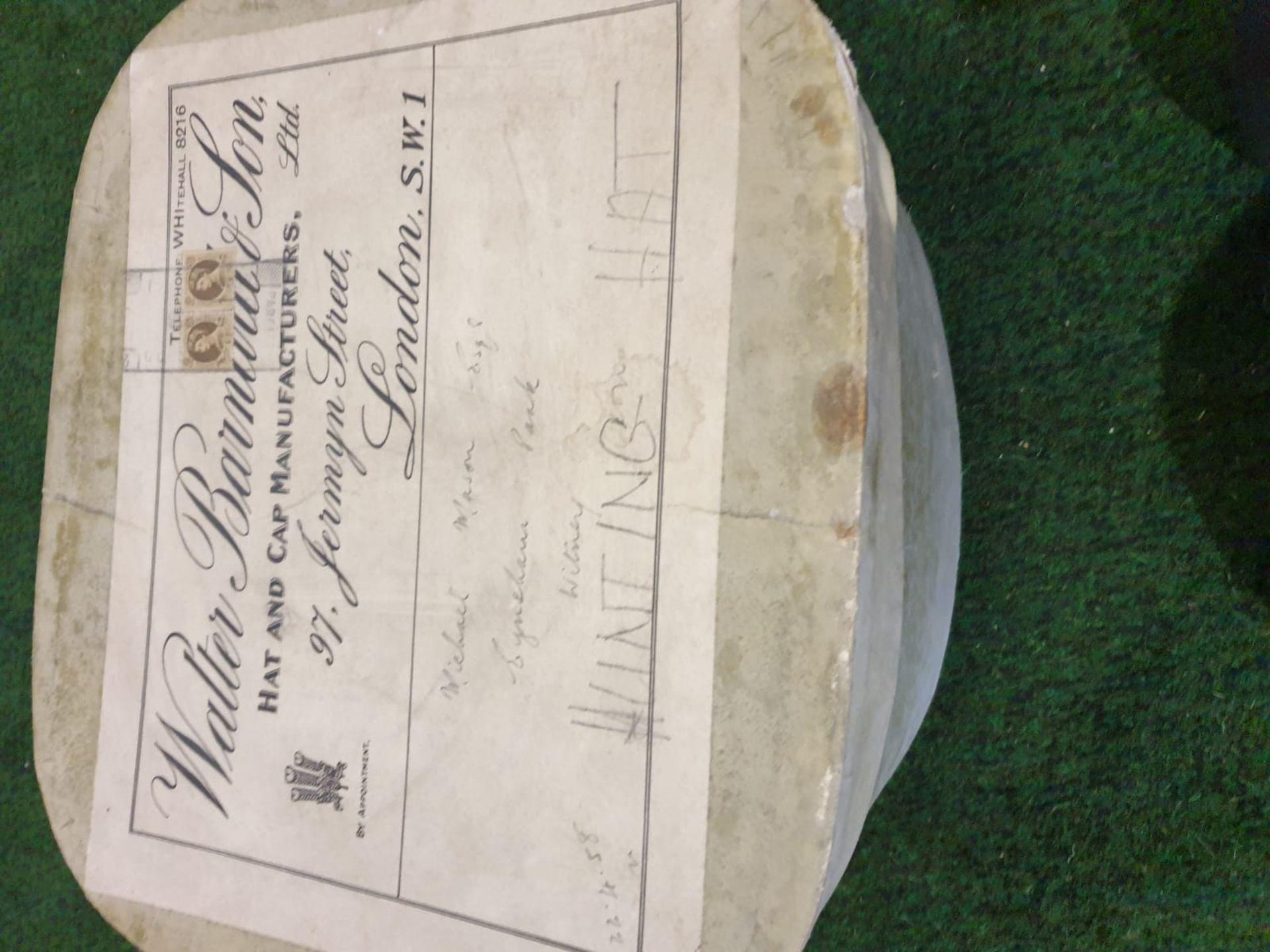 A James Lock + Co. Silk Black Top hat in a Waltar Barnhard card box - Image 4 of 4