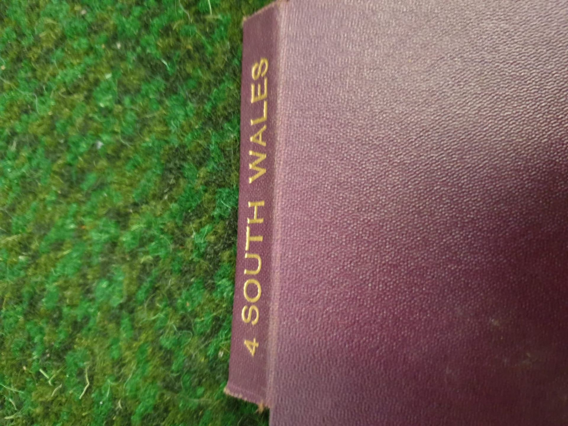 A set of 8 G.W. Bacon & Co VintageLarge Print Road maps in leather slipcase Circa. 1910 - Image 8 of 12