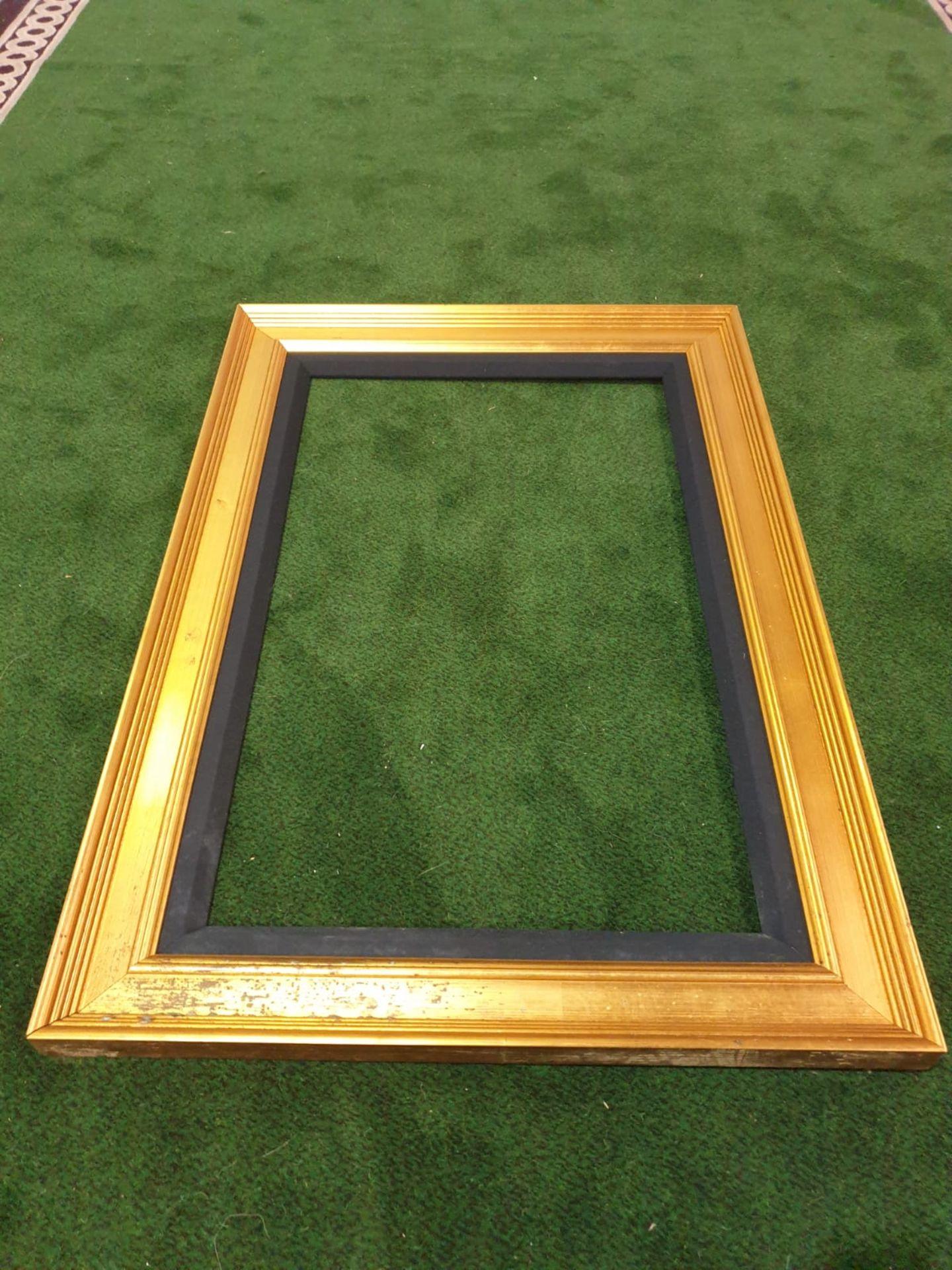 Gilt picture frame 80 x 116cm