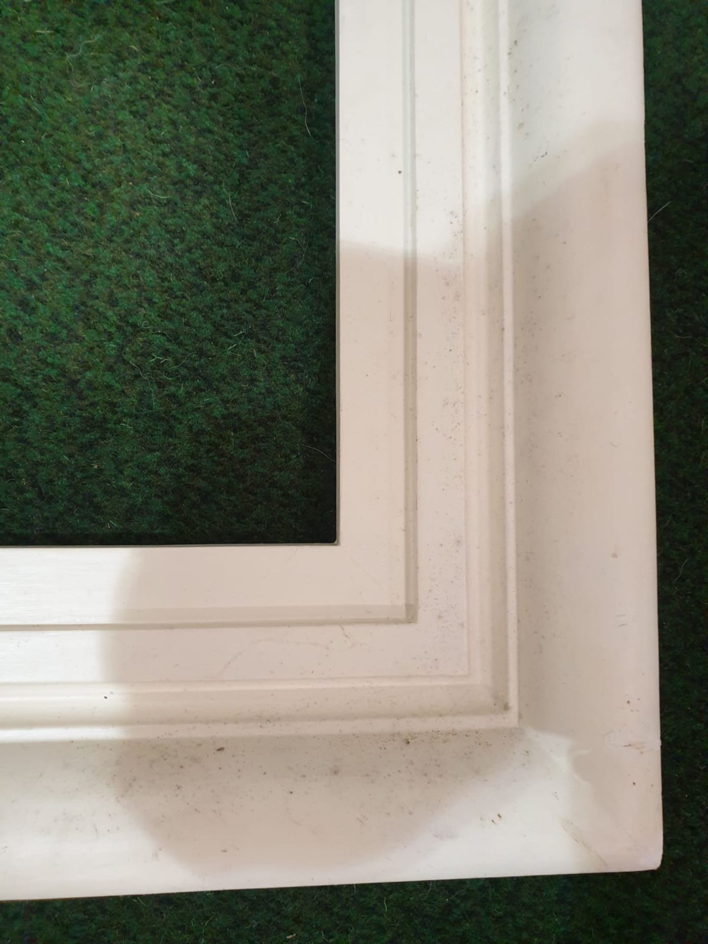 White picture frame 98 x 148cm - Image 4 of 4