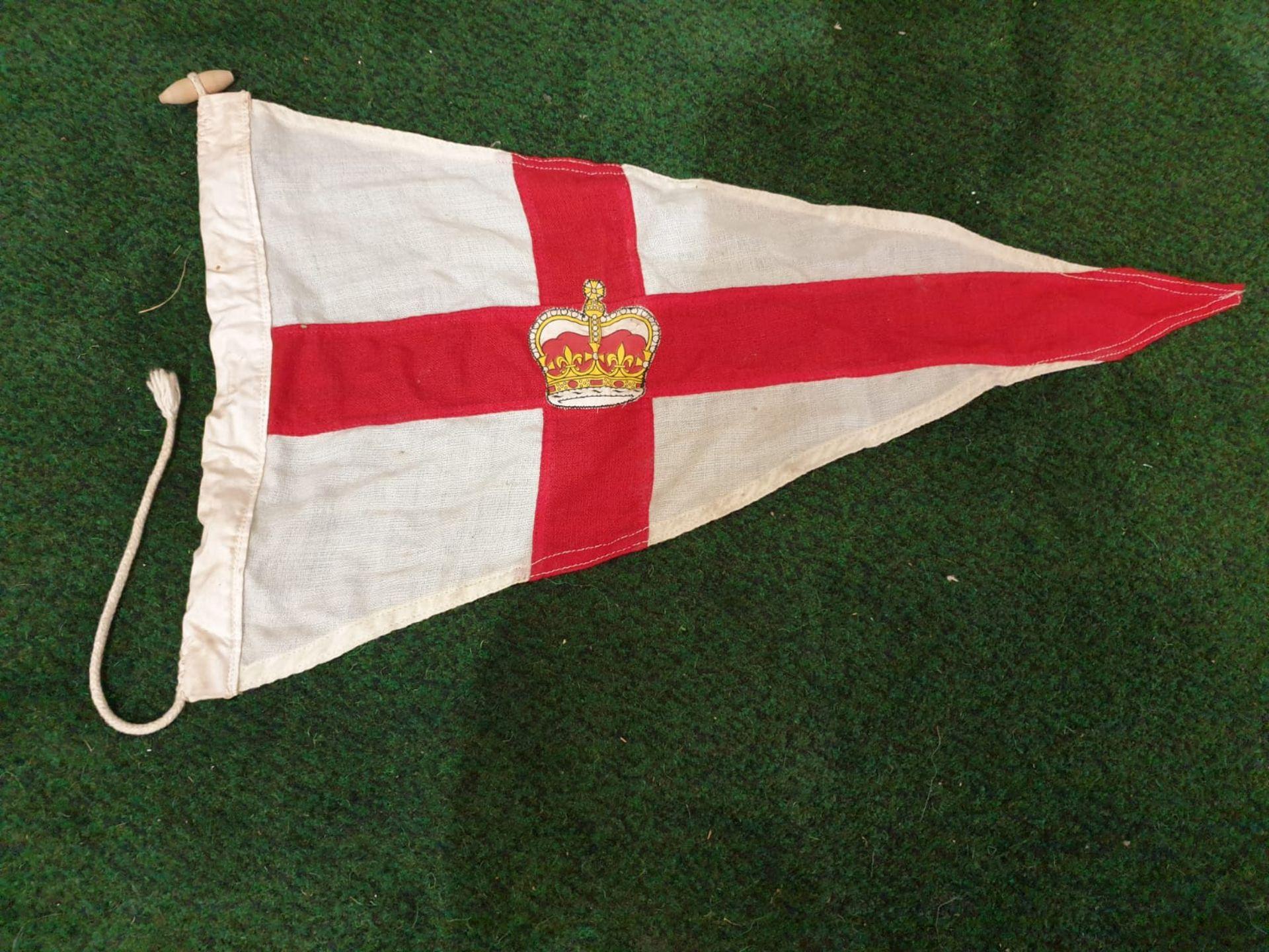 Vintage St Georges pennon flag - Image 2 of 2