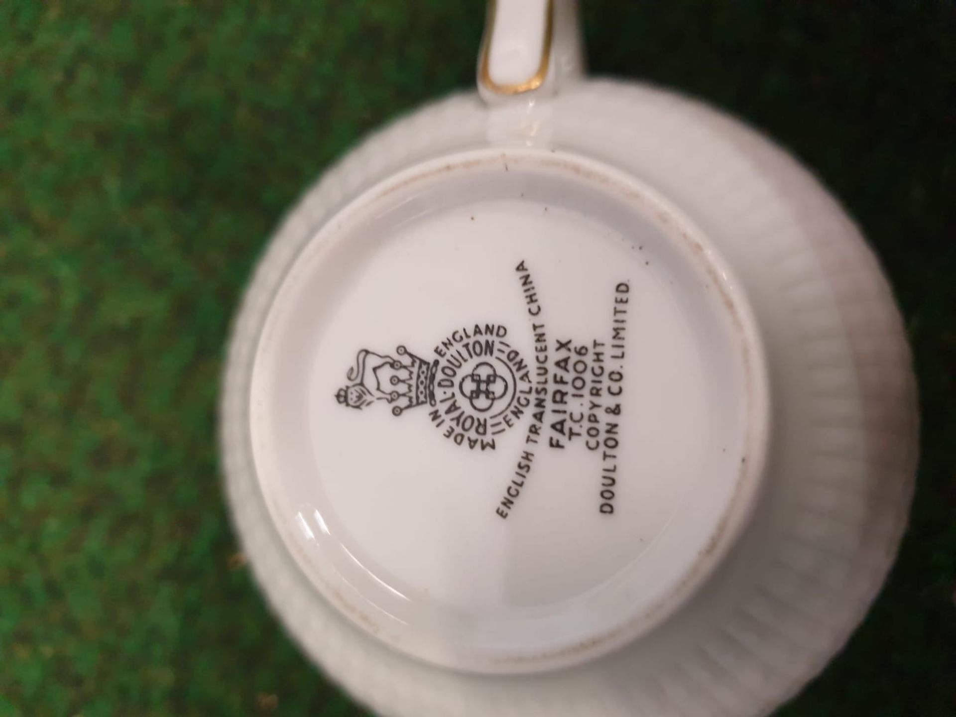 A Large quantity of tableware various patterns and manufacturers including Royal Doulton, Shelley, H - Image 8 of 15